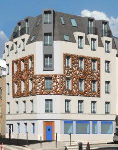 Surélévation d'immeuble à Paris